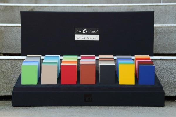 """""""Le Corbusier – Claviers de Couleurs"""" Musterbox"""