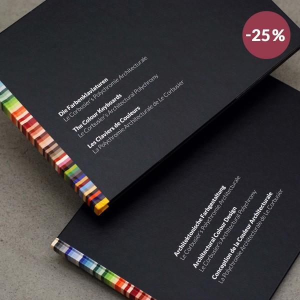 Set: Le Corbusier´s Farbenklaviaturen und Architektonische Farbgestaltung