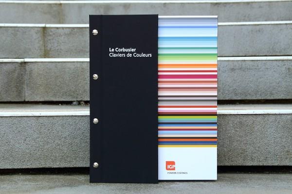 """""""Le Corbusier – Claviers de Couleurs"""" Musterbuch"""