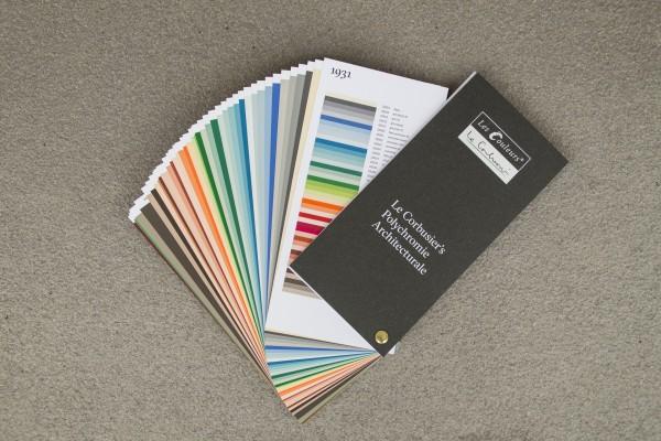 Le Corbusiers Farbfächer